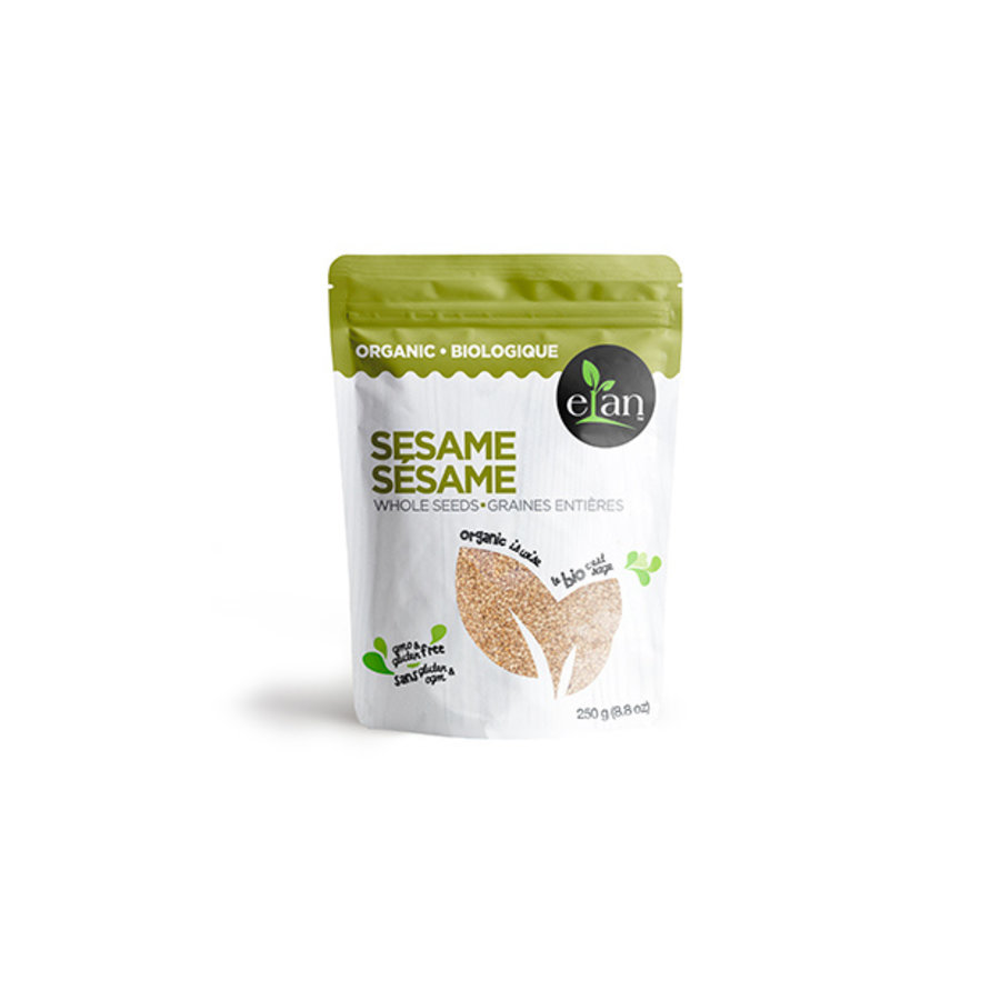 Elan Organic Whole Sesame Seeds 250g