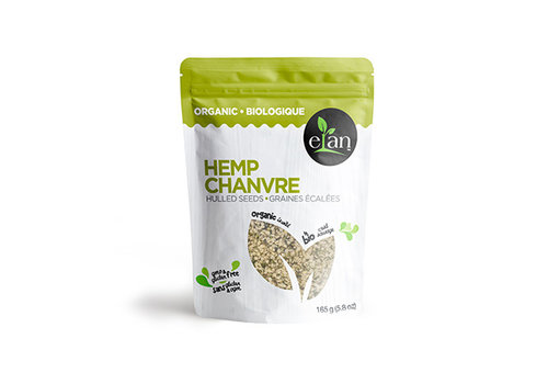 Elan Organic Hulled Hemp Seeds 165g