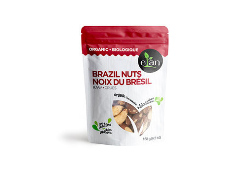Elan Organic Raw Brazil Nuts 185g