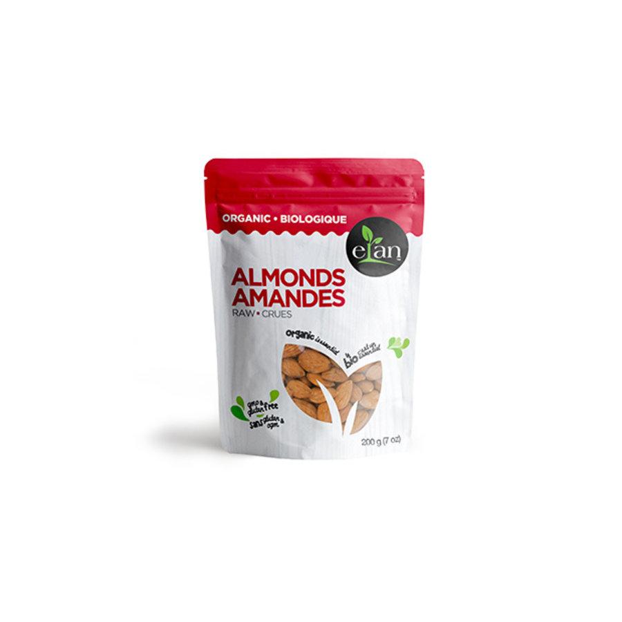 Elan Organic Raw Almonds 200g