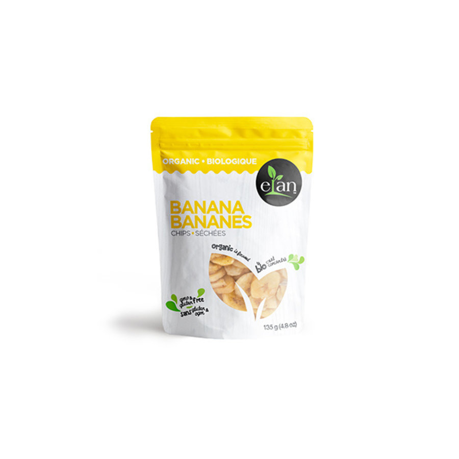 Elan Bananes séchées Bio 135g