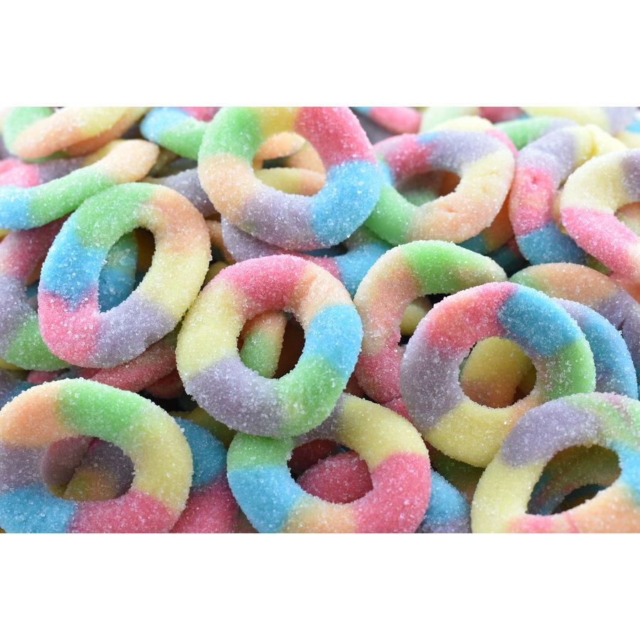 Sour Multicolour Rings