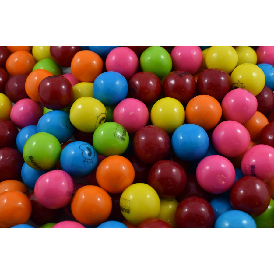 Gomme boule King multicolores