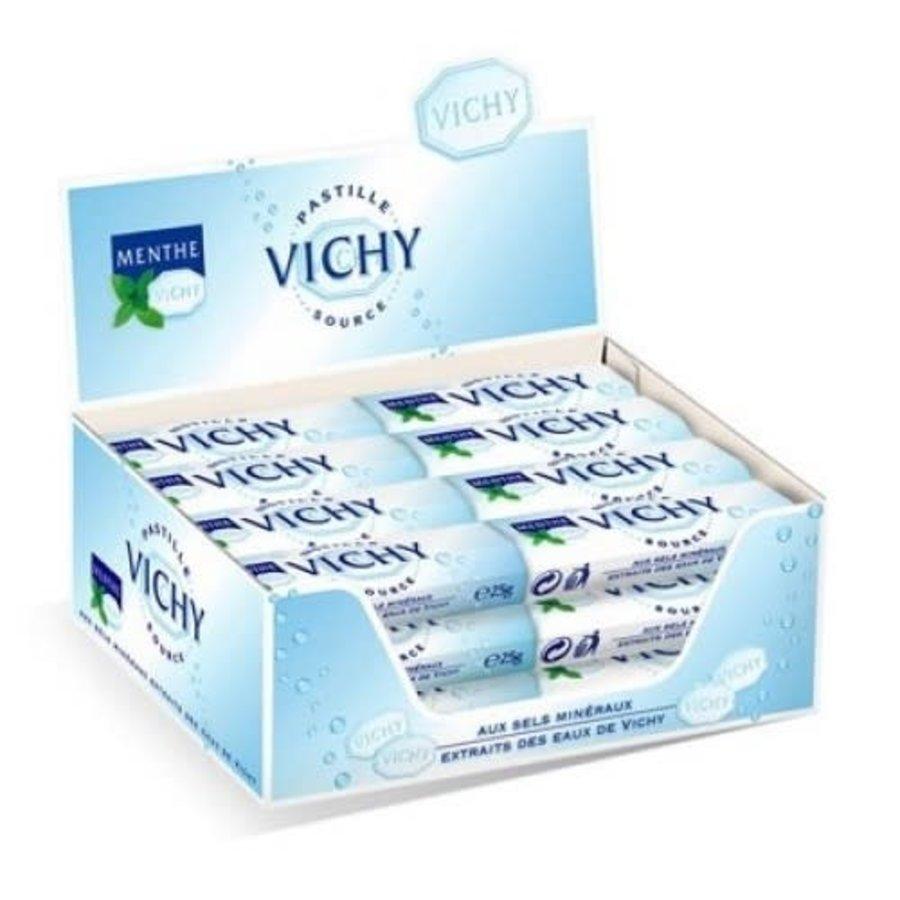 Pastille Vichy menthe 25g