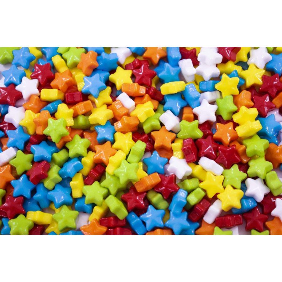 Étoile multicolore