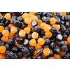 Citrouilles gelée orange et noir