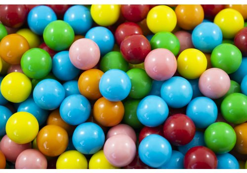 Mini Assorted Gums 14mm