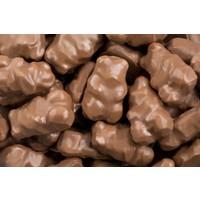 Oursons enrobés chocolat