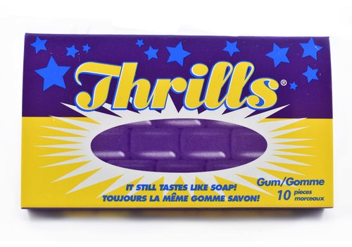 """Thrills"" Gum (Soap Gum)"