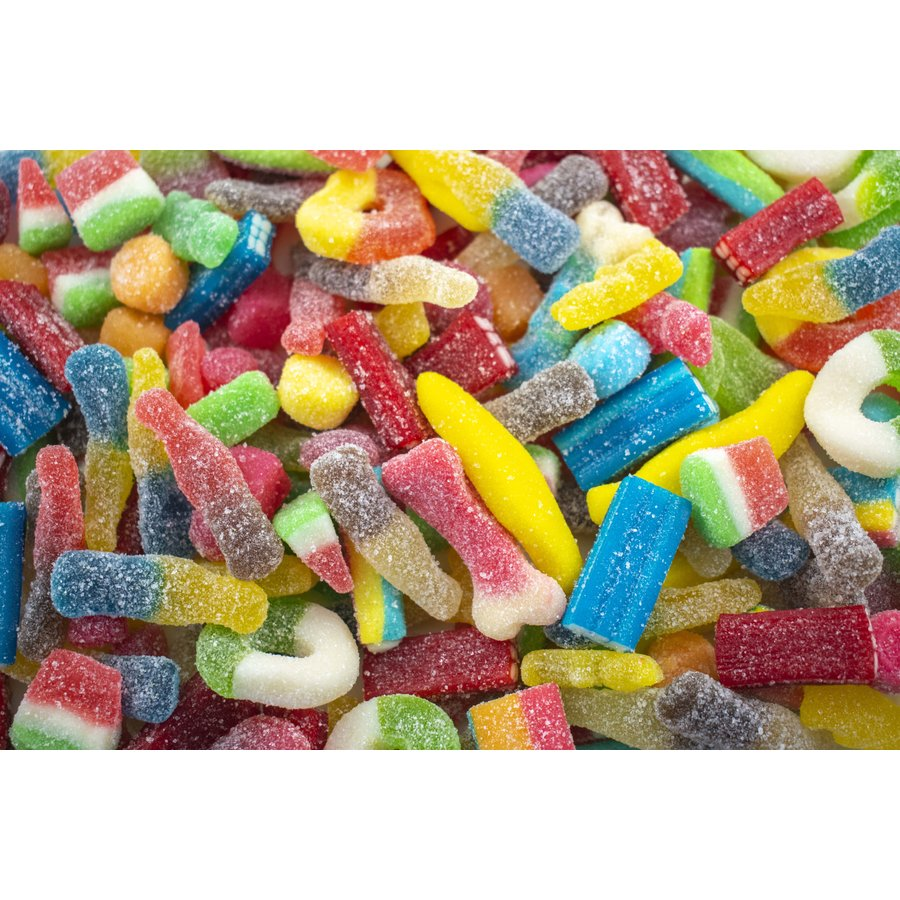 Gummy Sanded and Sour Mix 250g