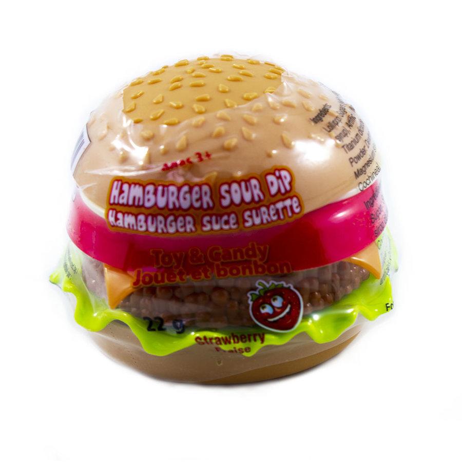 Hamburger sucette