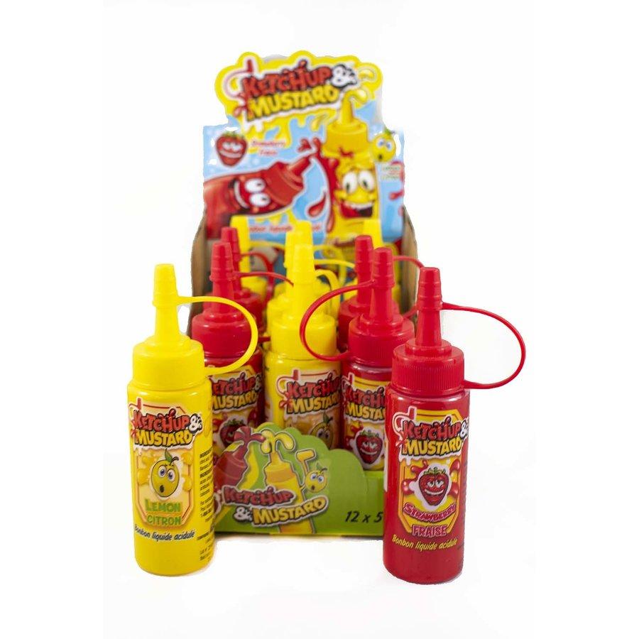 Ketchup & Mustard Candy