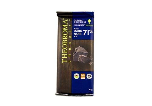 Chocolat Noir 71% Théobroma 80g
