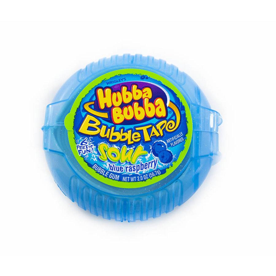 Sour Blue Raspberry Hubba Bubba