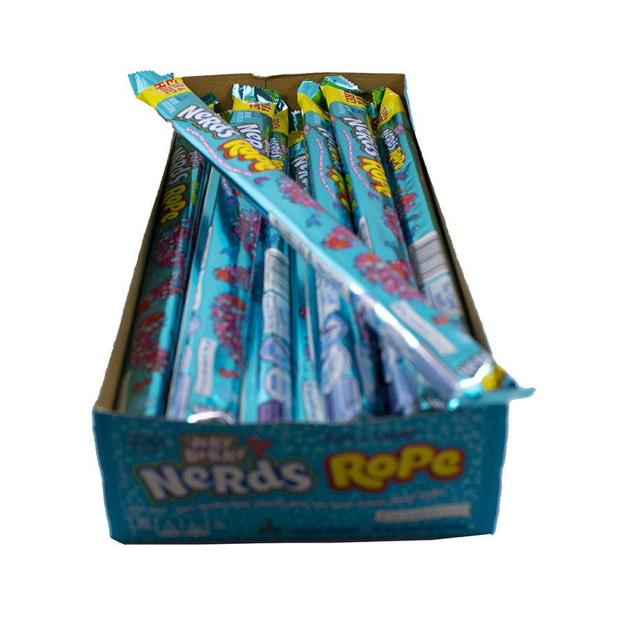 Corde de Nerds framboise bleue