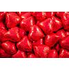 Coeurs rouge en chocolat