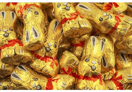 Lapins chocolat de Pâques