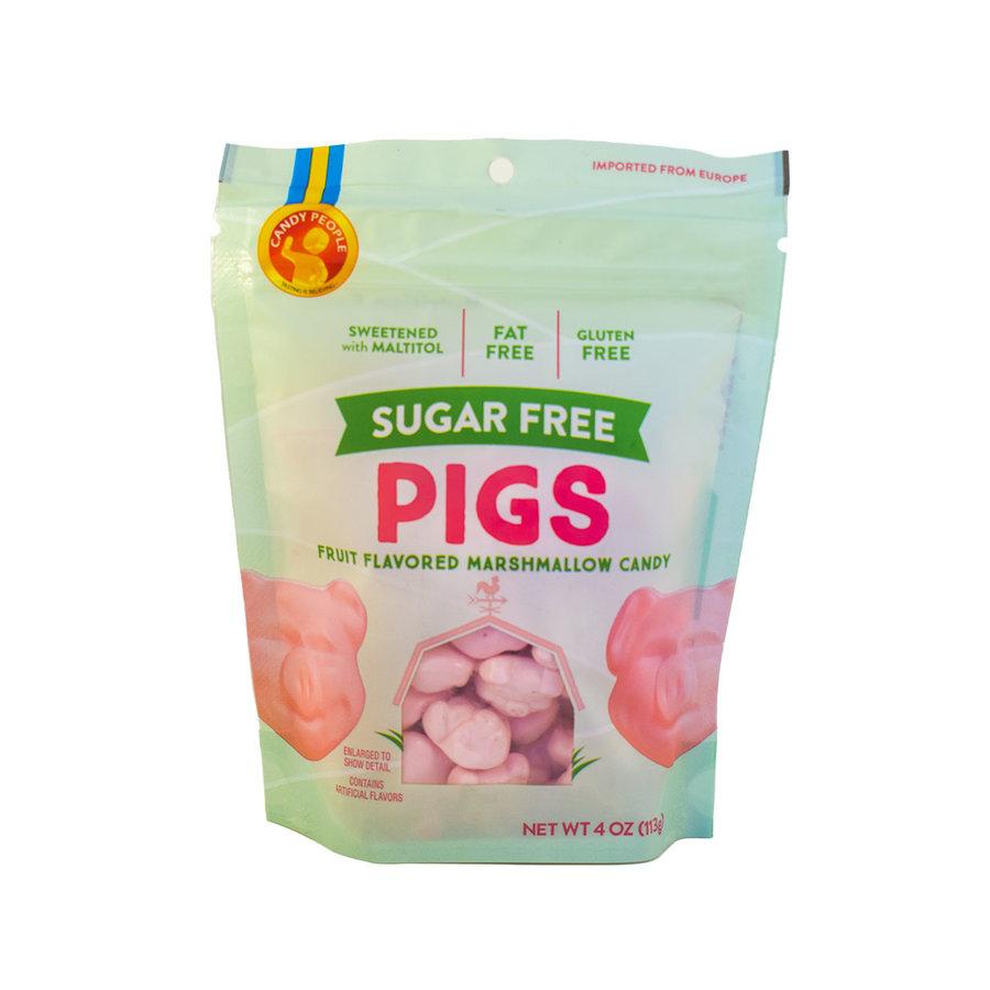 Cochons guimauve sans sucre 113g