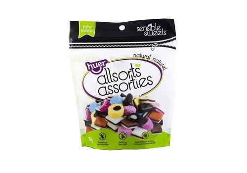 Huer Sensible Sweets English Licorice 170g