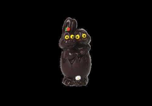 Chocolats Lulu Chocolat noir Lulu Lapin canard-oeuf 220g