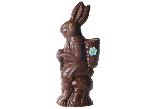 Chocolats Lulu Milk chocolate giant rabbit Lulu 1140g