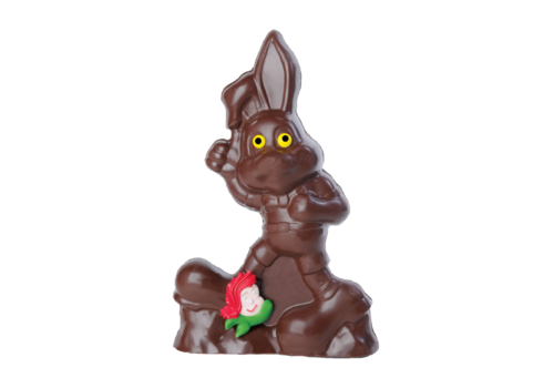 Chocolats Lulu Milk chocolate rabbit runner Lulu 325g