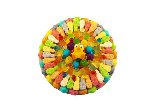 Easter Candy Pizzas 700g