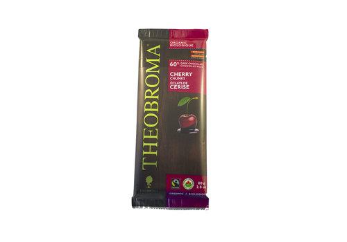 Theobroma Chocolat noir 60% cerise bio vegan sans gluten