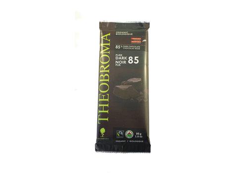 Theobroma Chocolat Noir 85% bio vegan sans gluten 80g