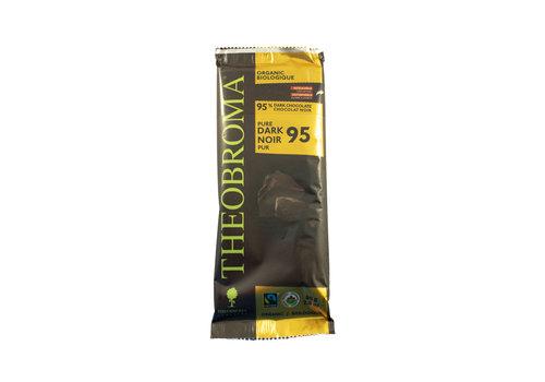 Theobroma Chocolat Noir 95%  bio vegan sans gluten 80g
