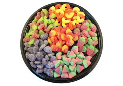 Plateau de bonbons surettes