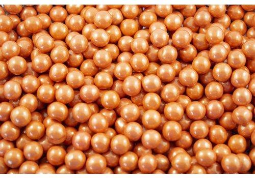 Oak Leaf Sixlets Shimmer Orange
