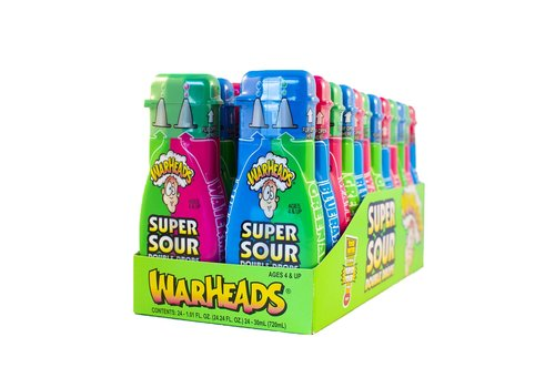 Warheads Super Sour Double Drops