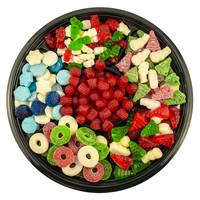 Plateau de bonbons des fêtes