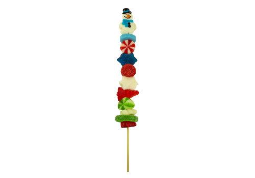 Brochette de bonbons des fêtes 75g