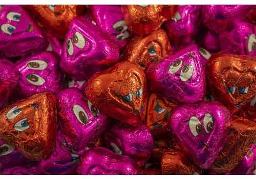 Coeurs d'humour chocolat