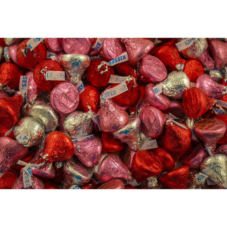 Hershey's Kisses de St-Valentin