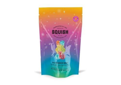 Squish Squish Ours arc-en-ciel surets 120g