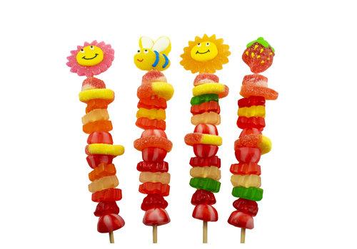Brochette de bonbons Jardin 70g