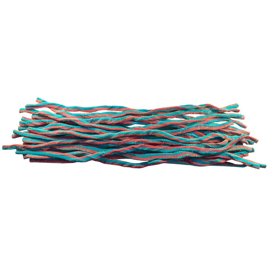 Méga Réglisse Framboise rouge et bleu surette 70cm