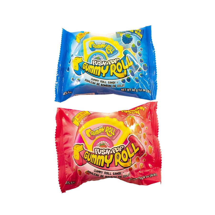 Push Pop Gummy Roll