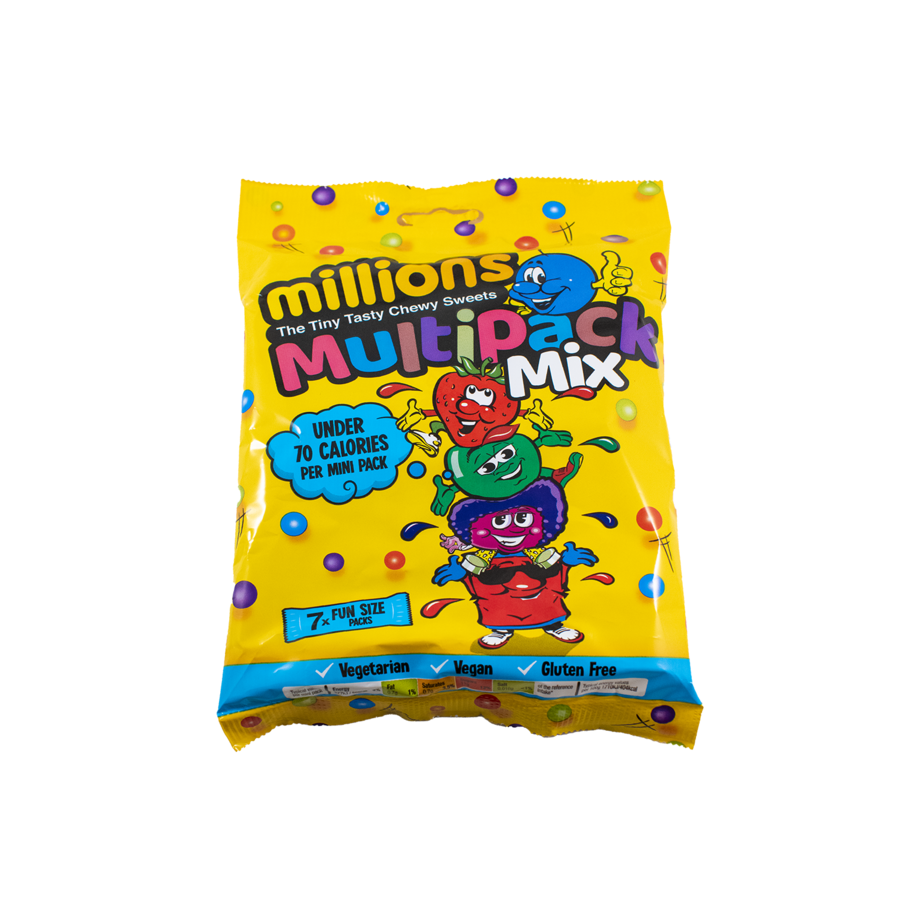 Millions Multipack Mix 115g