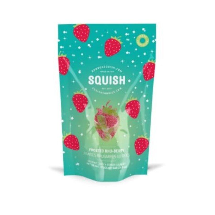 Squish Fraises Rhubarbes Givréees120g