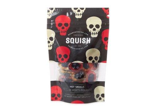 Squish Squish Têtes de Morts Piquantes 120g