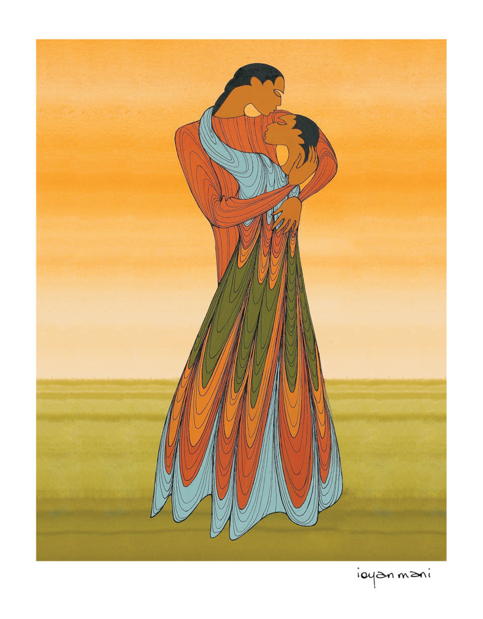 Lovers by Maxine Noel Limited Edition Framed