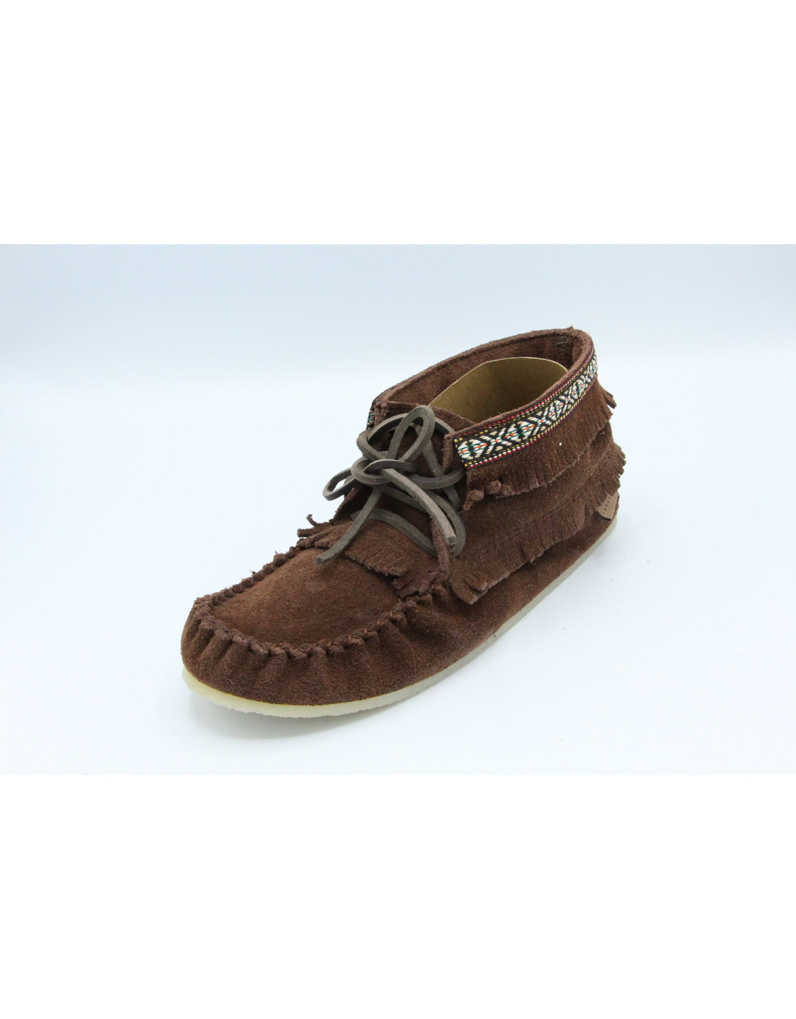 Moccasin Boot with Detailed Trim