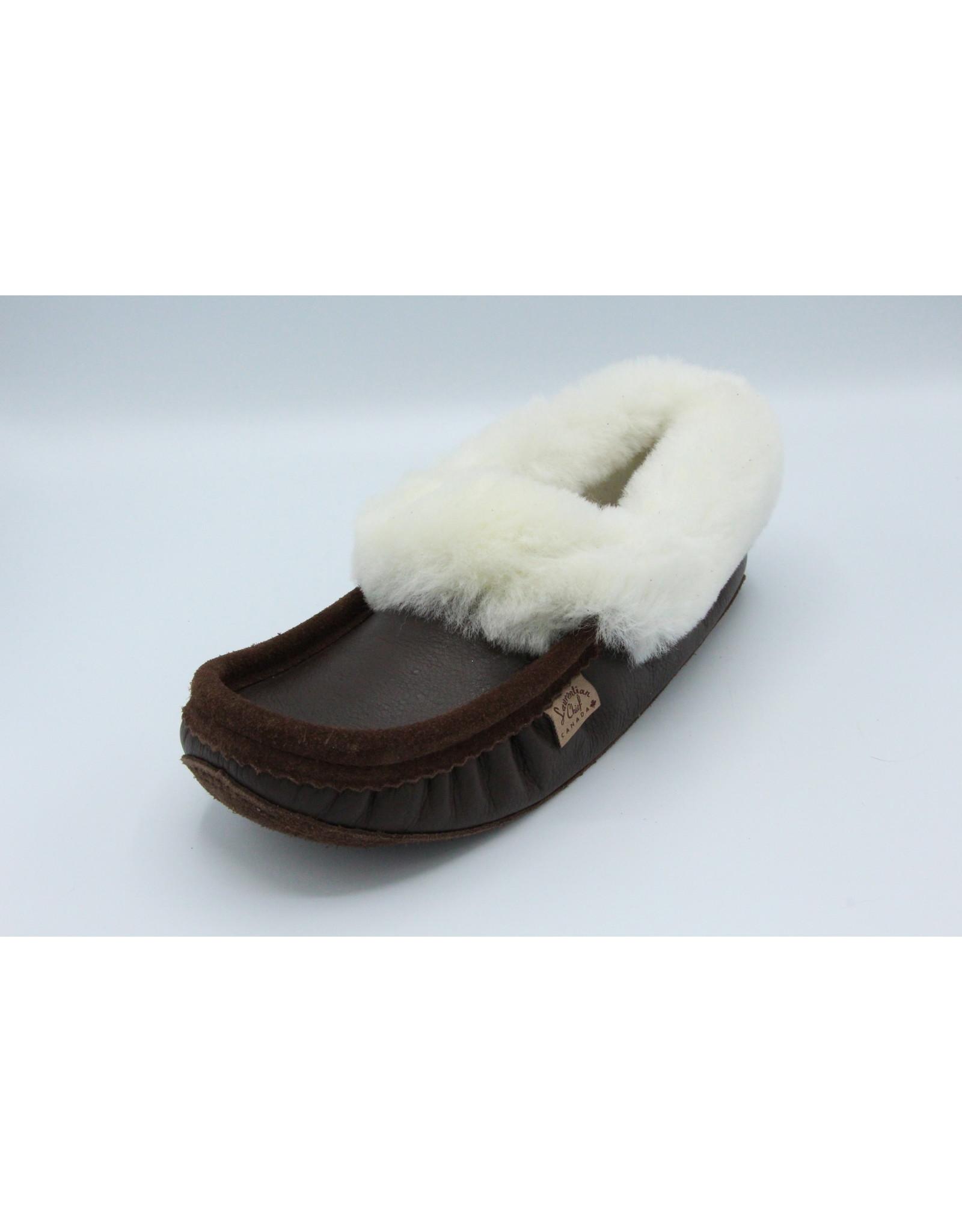 Wool Moccasin Slipper