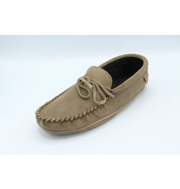 Smoke Suede Moccasin