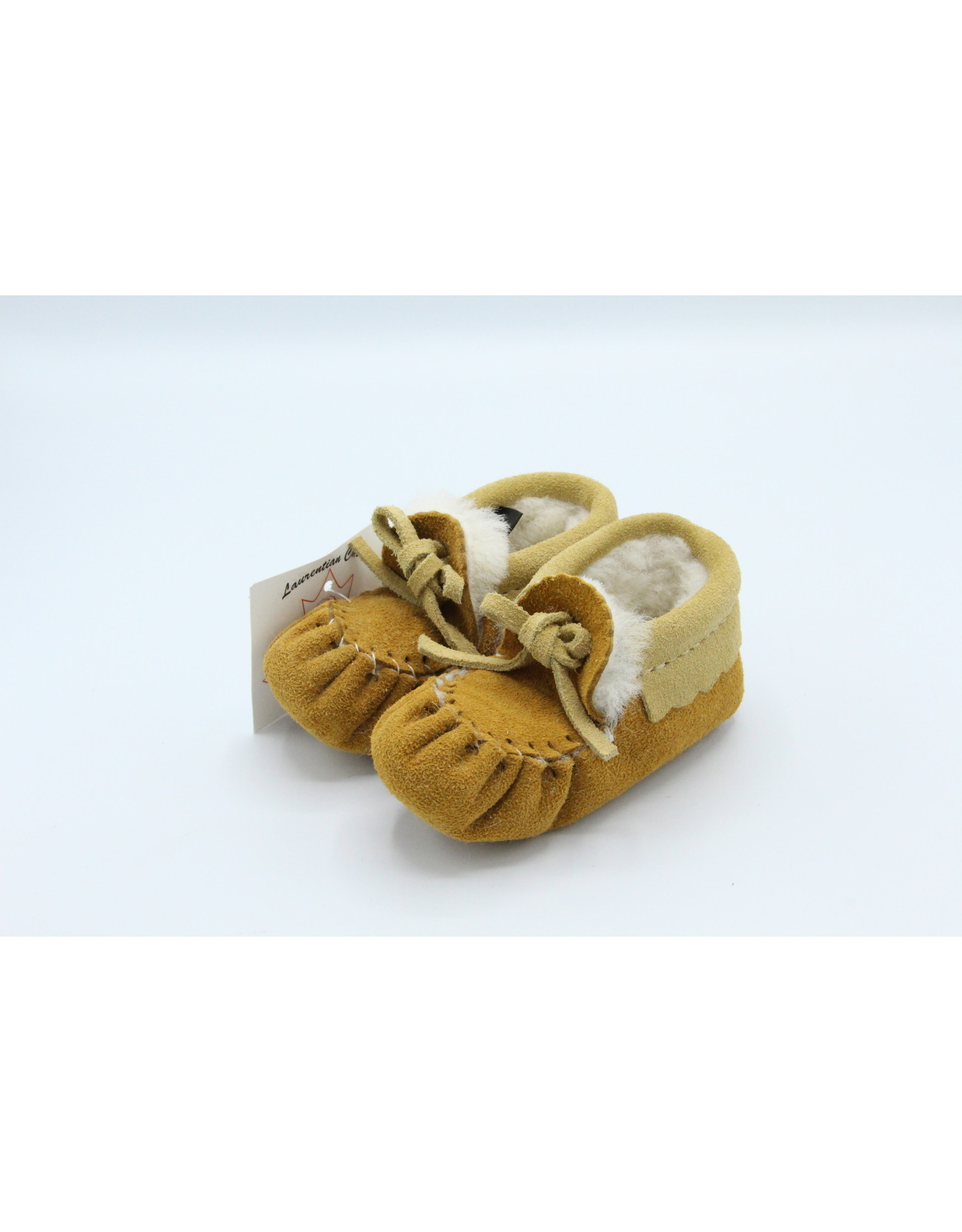 Wool Lined Baby Moccasin
