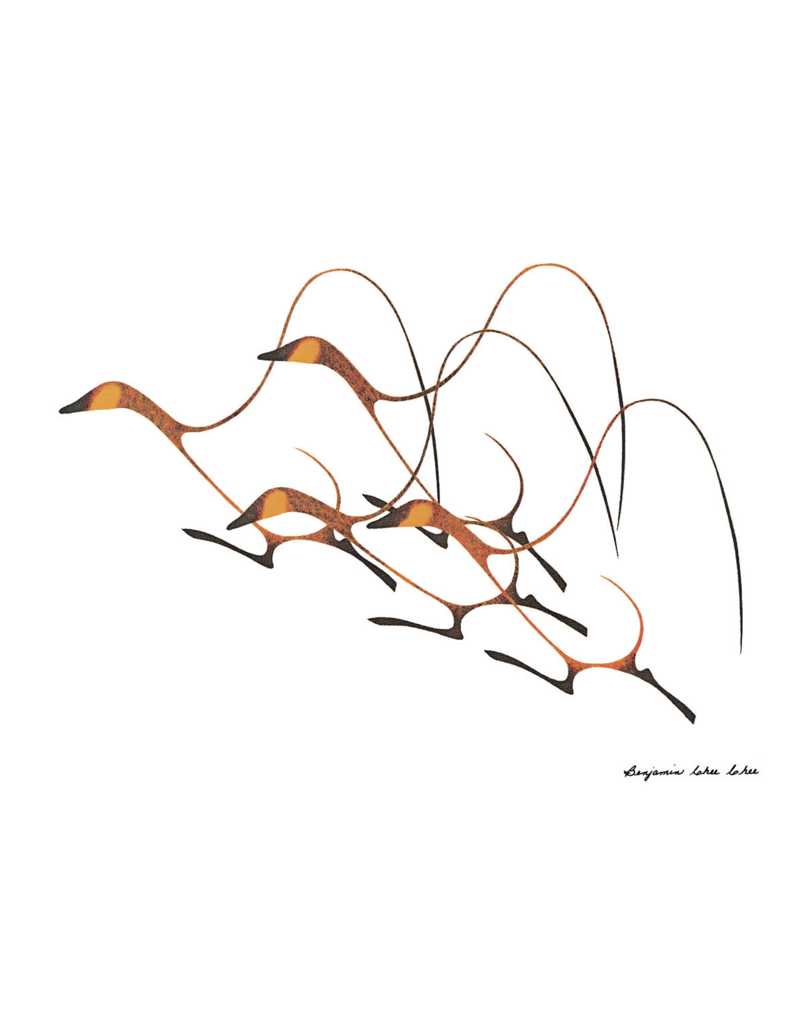Autumn Flight par Chee Chee Édition Limitée Encadrée